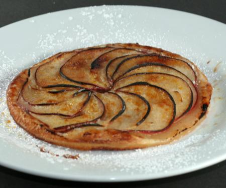 ... ice apple tart apple tart with vanilla ice with vanilla ice cream