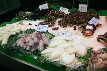 La Boqueria Barcelona Market On Las Ramblas