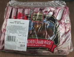 Rack of Lamb Sous Vide -- Costco vs  Trader Joe's