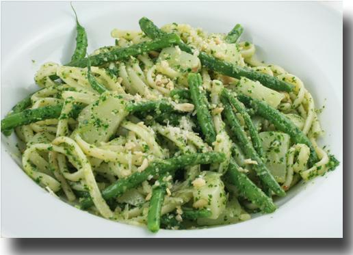 basil pesto basil pesto ce rustic genovese basil pesto pasta recipe ...